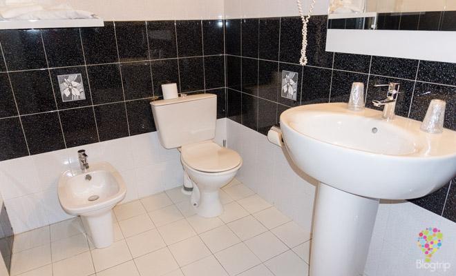 Servicio de baño del hotel Spunta di Mare