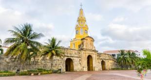 Por las calles de Cartagena de Indias en Colombia