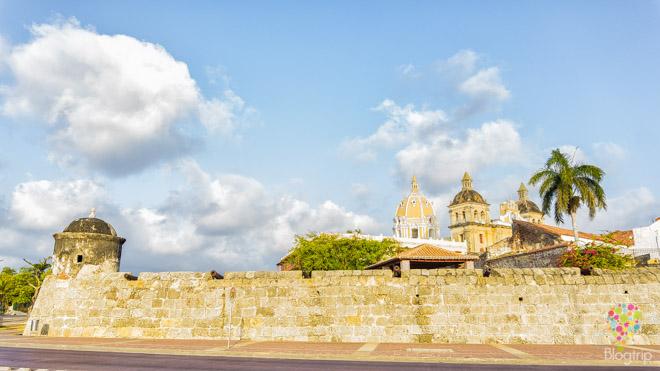 Visita de las murallas de Cartagena de Indias