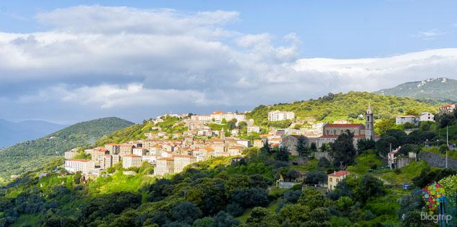 Visita de Sartene en Córcega del sur
