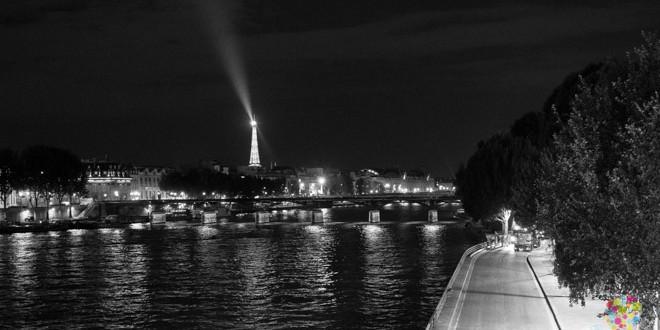 Visitar París la ciudad luz, fotografía nocturna