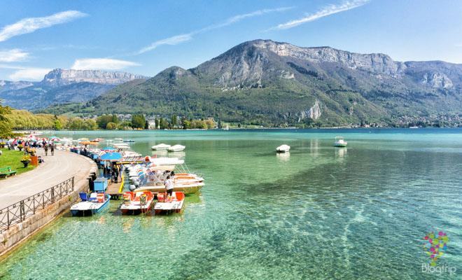 Annecy Francia: entre lago y montaña