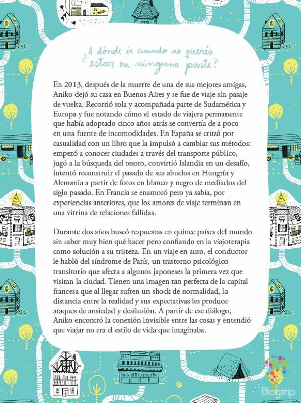 Contraportada el Síndrome de París - Aniko Villalba-Viajando por ahí