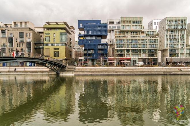 Apartamentos de arquitectura moderna en Lyon Francia