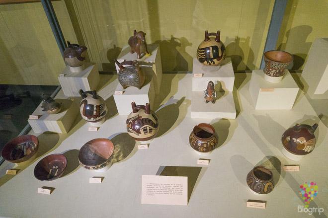 Cerámicas de representación animal en el museo regional de Ica