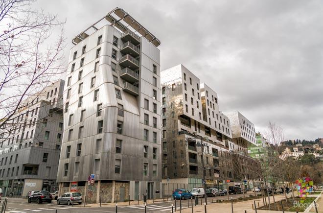 La Confluence, barrio ultra moderno de Lyon Francia