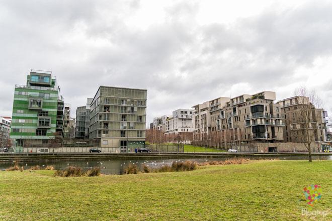 Barrio de La Confluence (la confluencia) en Lyon Francia