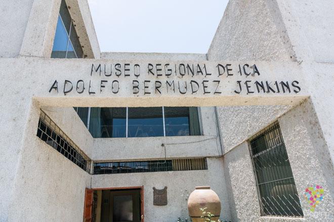 Visita al museo regional de Ica Adolfo Bermúdez Jenkins