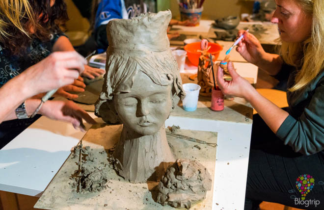 Museo de cerámica de Calcinaia en La valdera Toscana Italia