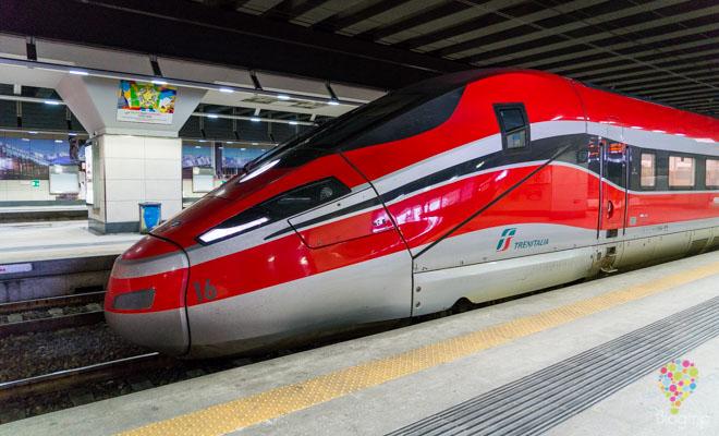 Tren bala de Trenitalia para viajar en Italia