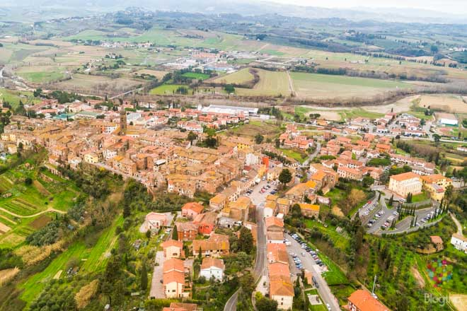 Viaje de fin de semana a La Valdera en Toscana Italia