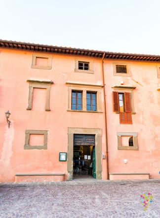Villa Baciocchi en Capannoli, región de La Valdera