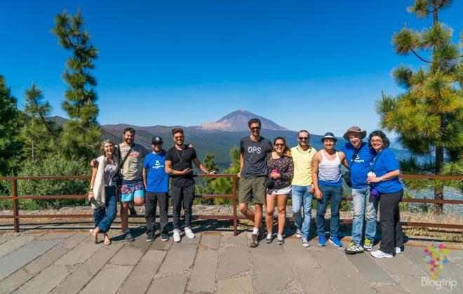 Bloggers del blogtrip fotodrive con Sixt España en Tenerife #TBMTenerife