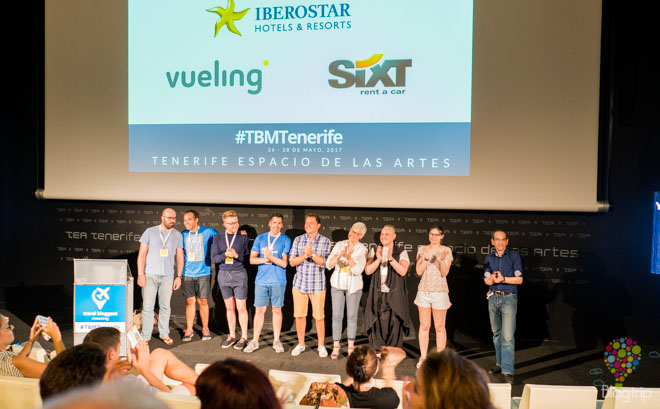 Equipo organizador del Travel Bloggers Meeting en Tenerife #TBMTenerife