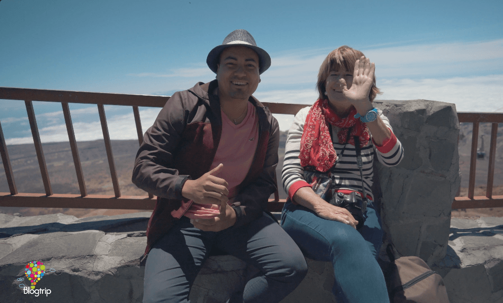 Concha de viajes y Aristofennes, blogtrip al volcán Teide en teleférico #TBMTenerife