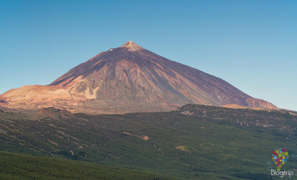 Pico del volcán Teide en Tenerife Islas Canarias