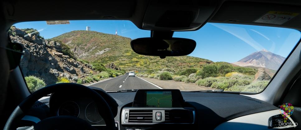 Ruta en coche de alquiler para recorrer Tenerife en Islas Canarias