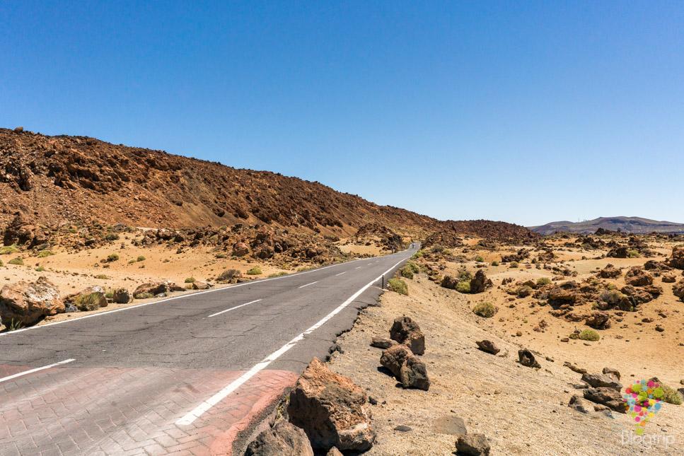 Ruta del mirador minas de San José, Parque Nacional Teide Tenerife