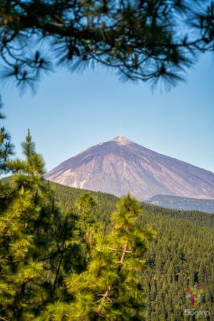 Volcán del Teide visto desde el mirador Ortuño - Santa Cruz de Tenerife