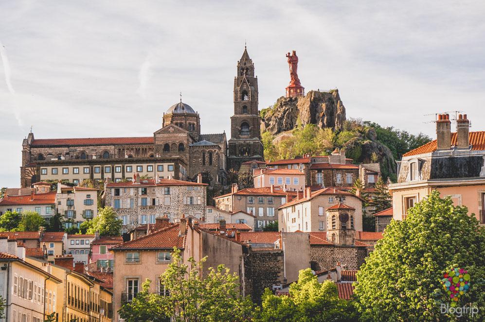 Rocher Corneille - estatua Notre Dame de Francia - Puy en Velay