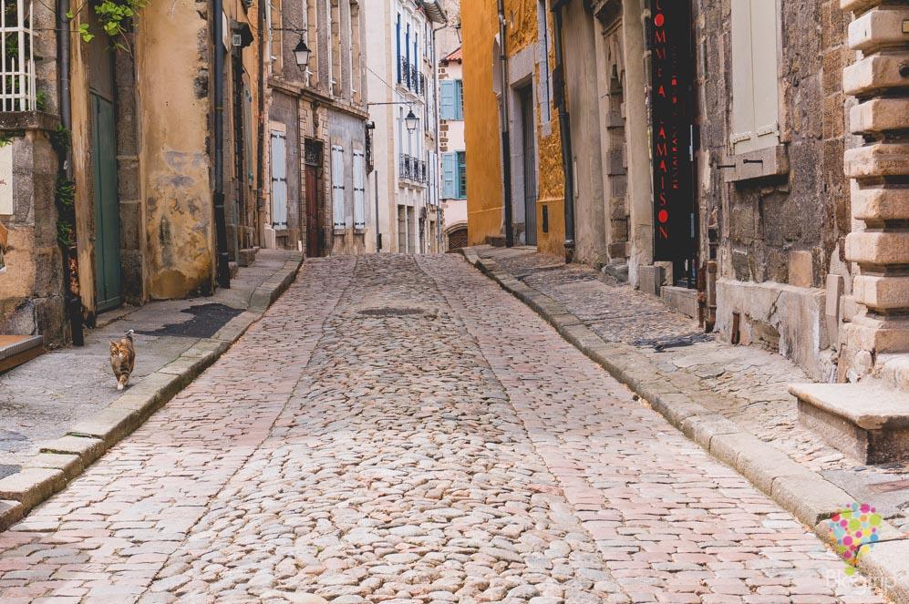 Visita del centro histórico Puy en Velay Francia