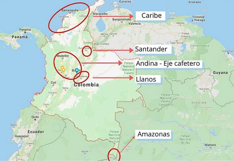Lugares turísticos de Colombia para visitar