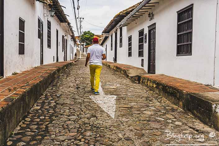 Pueblo de Girón fiestas patronales de Santander Colombia