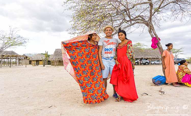 Visita de una Ranchería Guajira en Riohacha viajar a Colombia