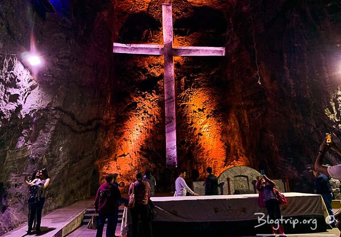 Viaje a la Catedral de sal de Zipaquirá en Colombia